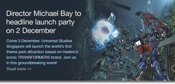 Director Michael Bay to headline launch party on 2 December