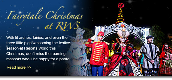 Fairytale Christmas at RWS - Read more